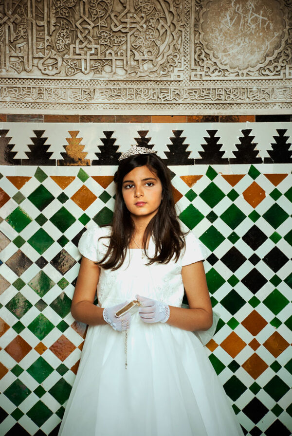 Maria and her first communion